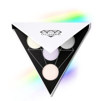 UCANBE Triangle Eyeshadow Palette Makeup Glow Highlighter Shimmer