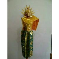 Baju adat anak baju bali legong cewe tari tarian karnaval pawai kostum