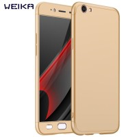 Weika Full Cover Armor Baby Skin Matte Hard Case For OPPO A39/A57