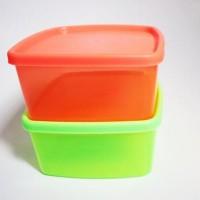 BARANG BAGUS TOPLES PLASTIK SEGI KOTAK MAKAN/ BEKAL/LUNCH BOX