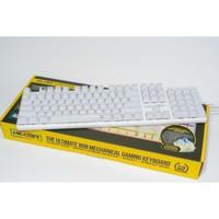Powerlogic Armaggeddon MKA-13R White - Mechanical Keyboard