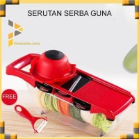 New Mandoline Vegetable Slicer Cutter Alat Potong Pemotong Parutan