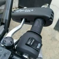 N22 Griplock Grip Lock Kunci Gembok Pengaman Anti Maling Stang Motor