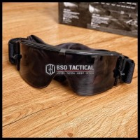 Promo Murah Goggle Airsoft With 3 Lens Military Tactical Goggle Import