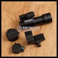 Diskkon Gila Tactical Scope Airsoft M2 L Mounting Red Green Dot