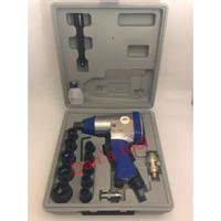 Air Impact Wrench Kit 1/2 inch Komplit / Impact Wrench Set Anak Sock