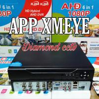 DVR 8 CH AHD 1080 N Fourbid suport semua kamera