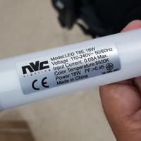 LED 18watt NVC 6500k 120cm super bright