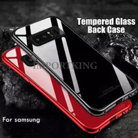 Samsung S10 PLUS tempered glass phone case