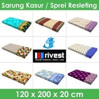 Rivest Sarung Kasur - 120 x 200 x 20 cm