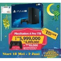 PS4 PRO 1TB Garansi sony resmi Indonesia Bundle stik +bonus stick