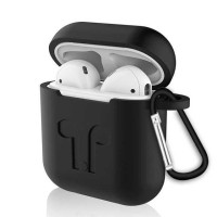 Silicone Case for AirPods 1 & 2 Charging Dock with Carabiner - P35 PRO