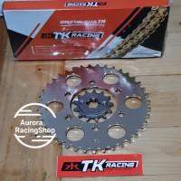 Gear Set TK Ninja 150 R / RR & Rantai TK 415 S Gold