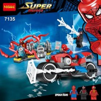 Decool 7135 Spiderman Minifigure Super Hero Lego Marvel