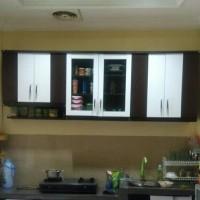 Kitchen set 6 pintu atas, rak gantung dapur