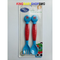 Baby Safe Baby Fork & Spoon SK003