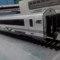 Grosir Miniatur Kereta Api - Gerbong KAI ABA Go Green
