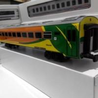 Grosir Miniatur Kereta Api - Gerbong KAI Ekonomi Go Green