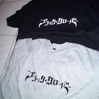 Kaos custom Black Clover+Black Bull