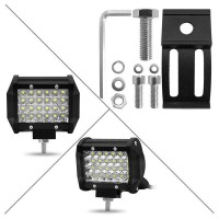 "200W 4"" 24Led Car Work Light Bar Spotlight Off-Road Driving Fog Lamp T"