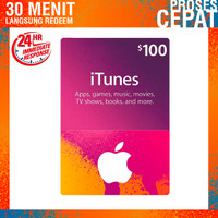 Apple itunes Gift Card Us - $100