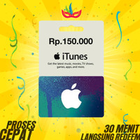 Apple Itunes Gift Card Indonesia - 150.000