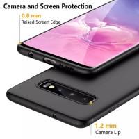 Samsung S10 S10 Plus S10 Lite Softcase Black Silicon Soft Cover Case