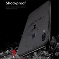 Samsung A10 A20 A30 A40 Softcase Kanvas Rusa Jean Back Cover Soft Case