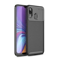 Samsung A10 A20 A30 A40 Softcase Silicon Carbon Back Cover Soft Case
