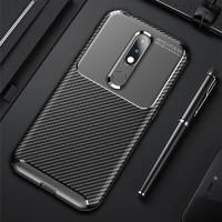Nokia 4.2 Softcase Silicon Carbon Armor Rubber Back Cover Soft Case