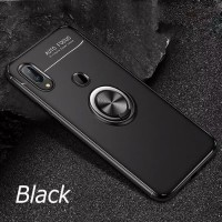 Samsung Galaxy M20 M10 Softcase Magnetic Ring Original Soft Cover Case