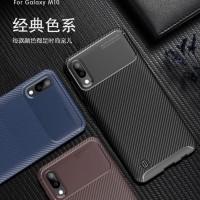 Samsung M10 M20 Softcase Carbon Rubber Armor Casing Cover Soft Case