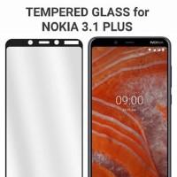 Tempered Glass Nokia 3.1 5.1 6.1 Plus X3 X5 X6 Full Cover Anti Gores