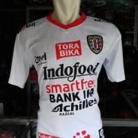 Kaos Baju Bola Jersey Atasan Bola Bali Putih Terbaru Lokal 2019