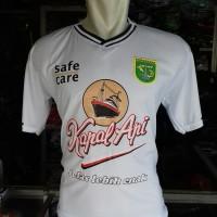 Kaos Baju Bola Jersey Putih Persebaya Terbaru 2019 - 2020 Lokal
