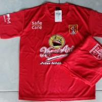 Kaos Baju Bola Jersey Setelan Anak Persebaya Merah New 2019