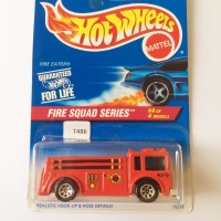 HOT WHEELS HOTWHEELS FIRE EATER FIRE SQUAD SERIES OLD BASIC LIMITED
