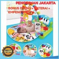 baby gym piano/Baby play mat /mainan anak