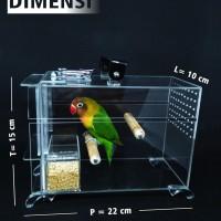 Jual Paling Bagus Love Bird Mini Box. Sangkar Burung ...