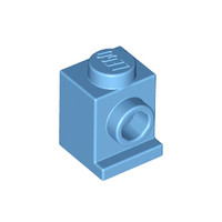 Lego medium blue Part 4070 Brick, Modified 1 x 1 with Headlight