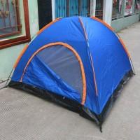 tenda dome 4/5 orang single layer