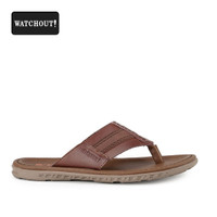 Sandal Pria Watchout Slip 81 Kasual Black Original