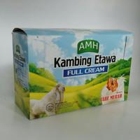 AMH SUSU KAMBING ETAWA FULL CREAM JAHE MERAN KEMASAN BOX ISI 10 SACHET