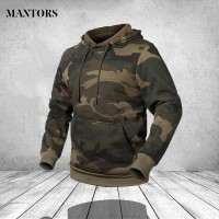 HJB Men Women Camouflage Sweatshirts Hoody Hat Casual Mens Fleece -