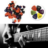 Alice Pick Gitar Akustik Frosted Face Anti Slip Slim 24PCS Berkualitas