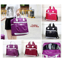 Fashion Travel Bag (Tas travel trendy, muat banyak pakaian)
