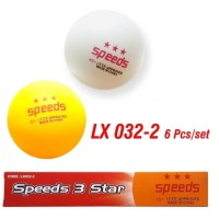 Bola PingPong Ping Pong Tenis Meja Ball 3 Stars Speeds Isi 6 pcs 32-2