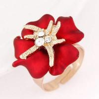 LIMITED CINCIN KOREA DIAMOND DECORATED FLOWER DESIGN