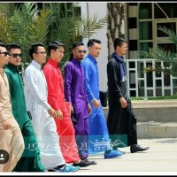 Ready Terbaik Jubah Gamis Pria Razzaqu Baju Koko Slimfit Soft Elrah