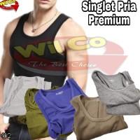 Sale K482 - Kaos Dalam Pria Premium - Kaos Singlet Sport 004 Super